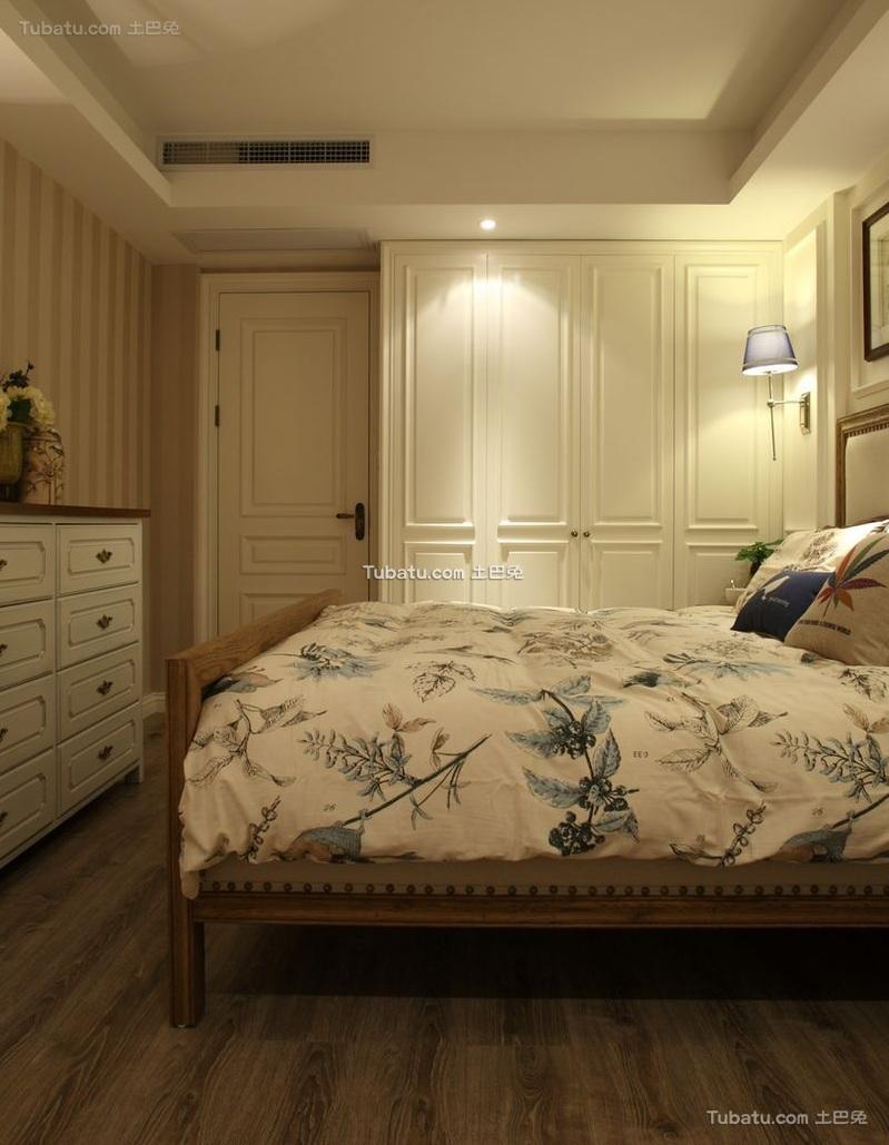 时尚美式风格卧室设计装修效果图