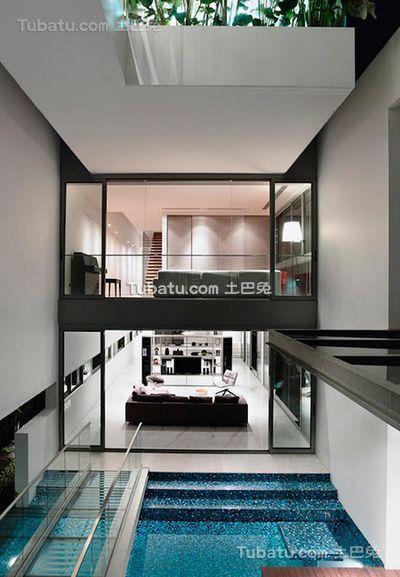 现代家居别墅室内装修图片