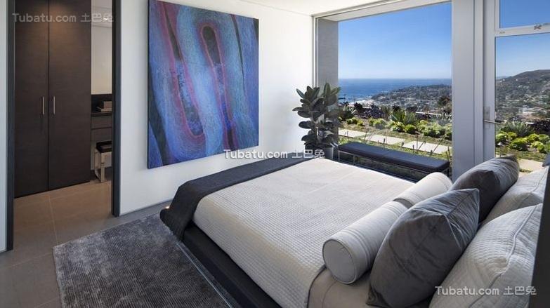 现代设计公寓卧室装修效果图片欣赏