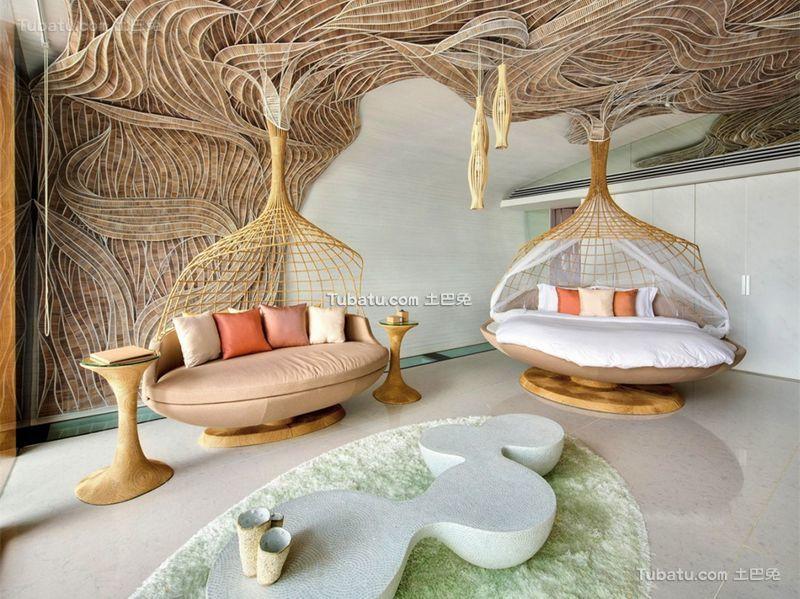 东南亚现代风格别墅装饰设计效果图