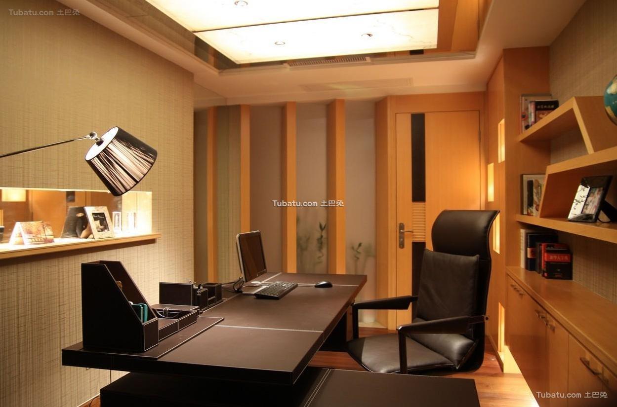 现代简约设计书房装饰效果图片