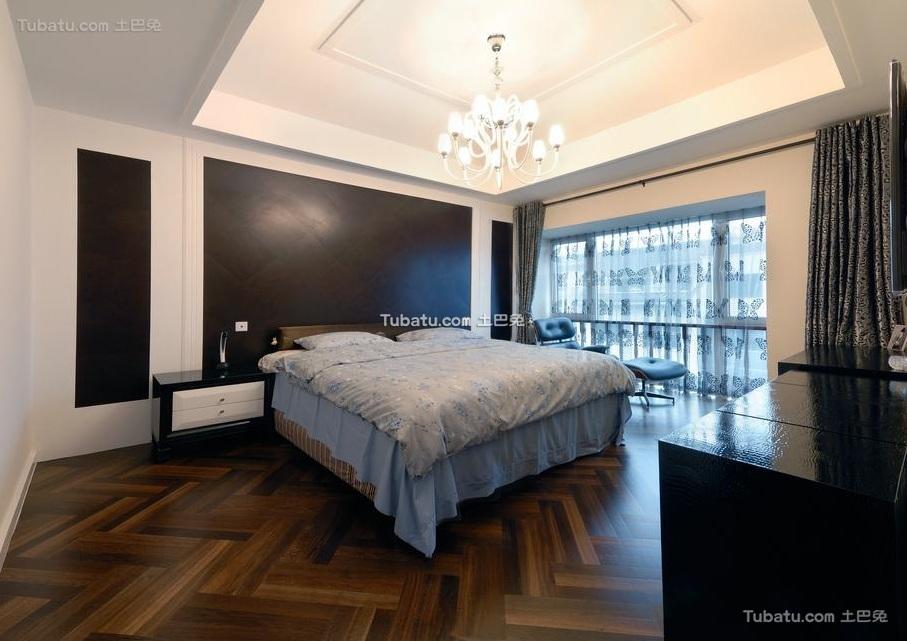 后现代设计风格卧室家装效果图