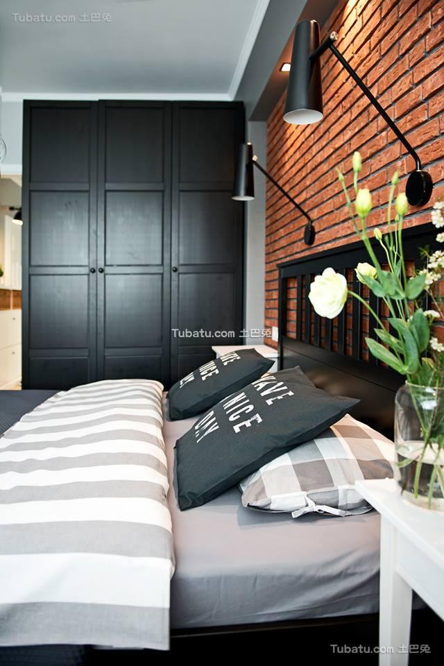 工业风北欧风格卧室