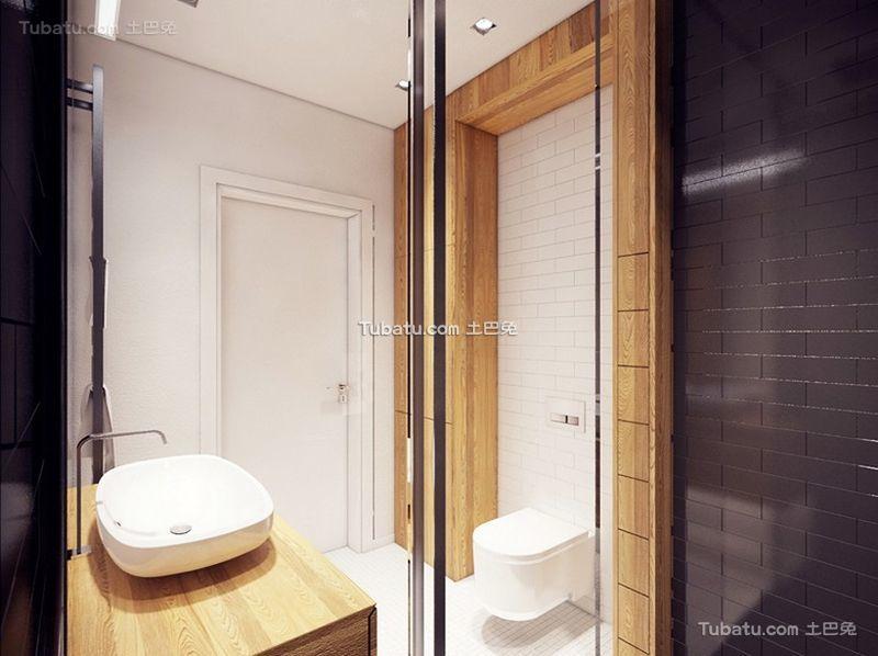 北欧风格设计卫生间图片