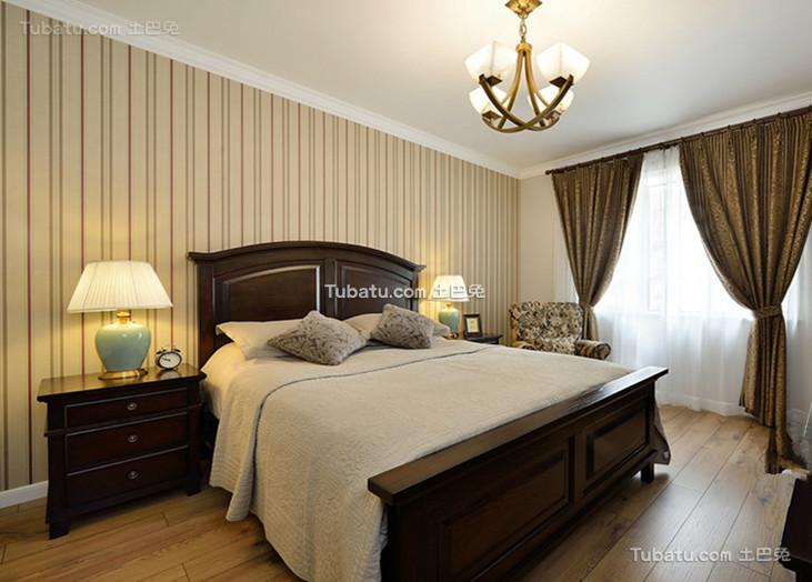 悠闲美式居家卧室