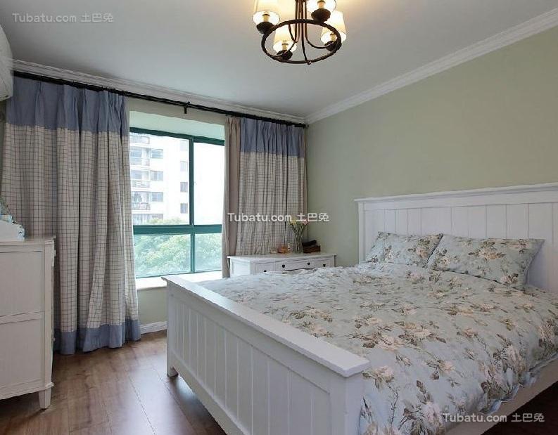 美式风格设计卧室家居装修效果图片