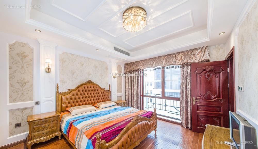 豪华古典欧式软装卧室
