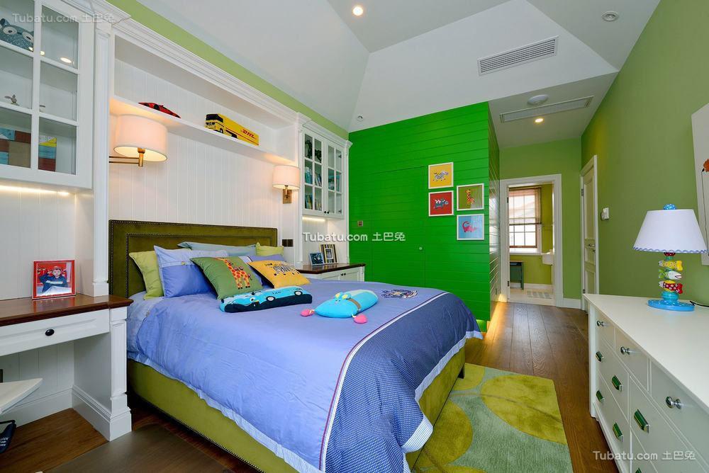 美式时尚家居儿童房室内装修效果图