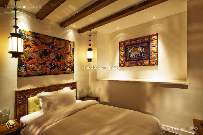 酒店卧室简约装修效果图片欣赏
