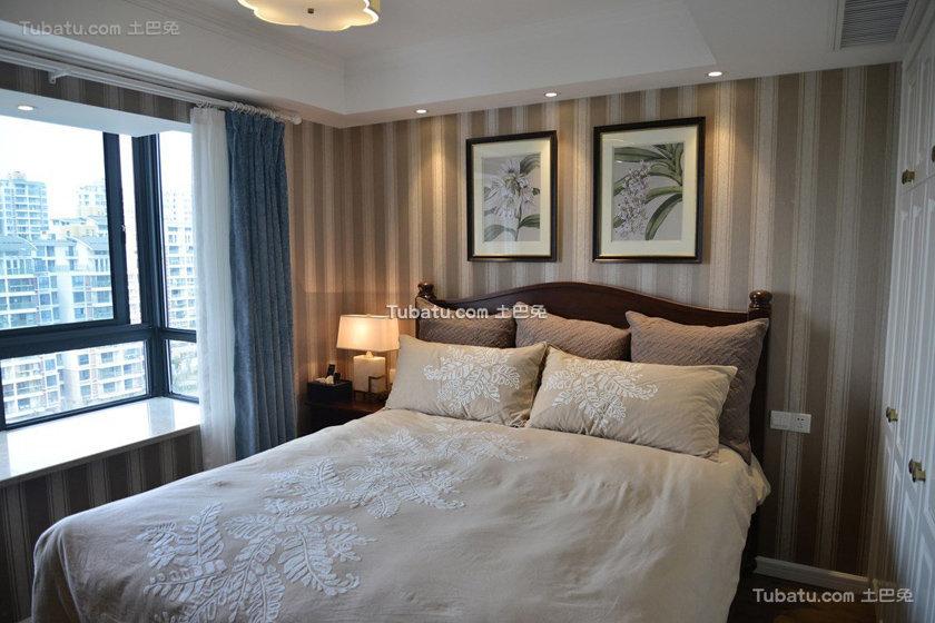 简约时尚美式卧室装饰