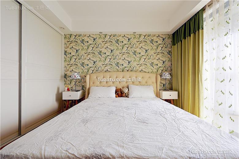 清新简约美式卧室装饰