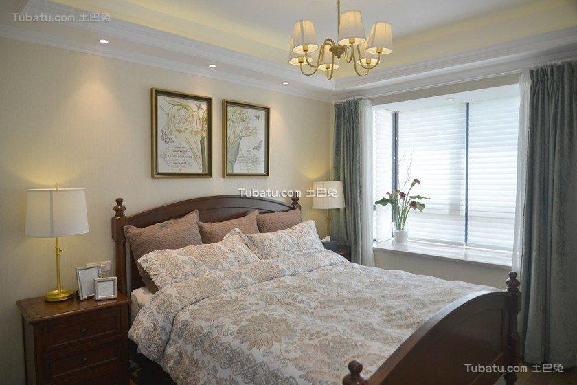 美式悠闲卧室装饰