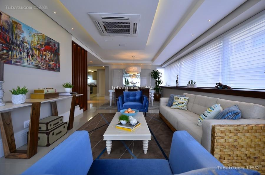 现代时尚家装客厅装潢布置
