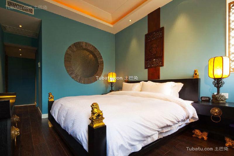 酒店设计卧室装修效果图片案例