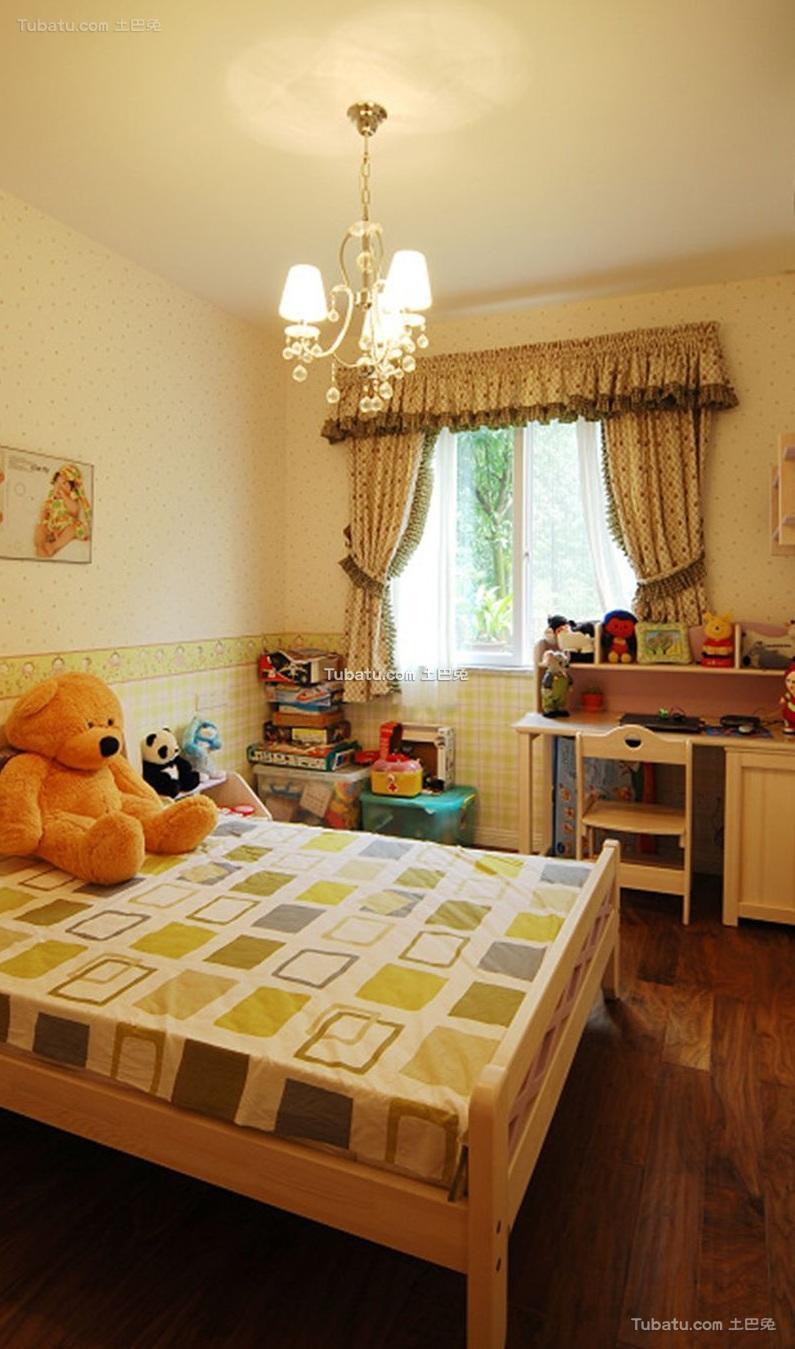 时尚简约设计儿童房间效果图片