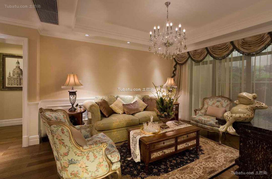 复古欧式客厅装饰