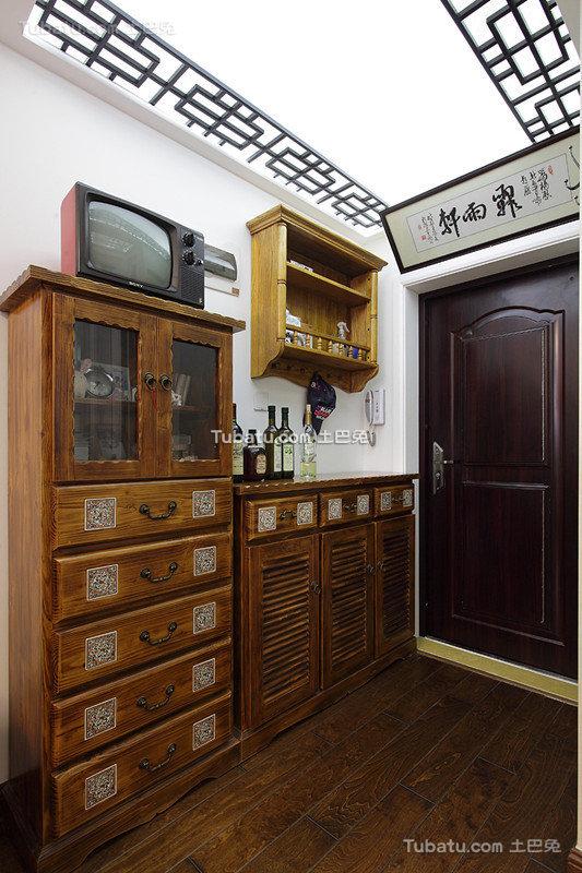 中式玄关装饰装潢