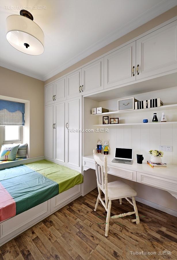 简欧风格复式室内卧室设计效果图