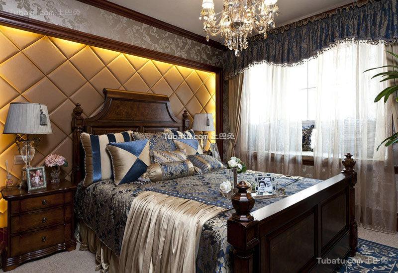 欧式古典豪华卧室