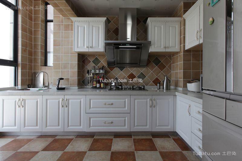 简欧风格家居厨房设计室内装修效果图