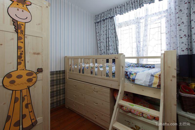简欧风格儿童房间设计装修效果图