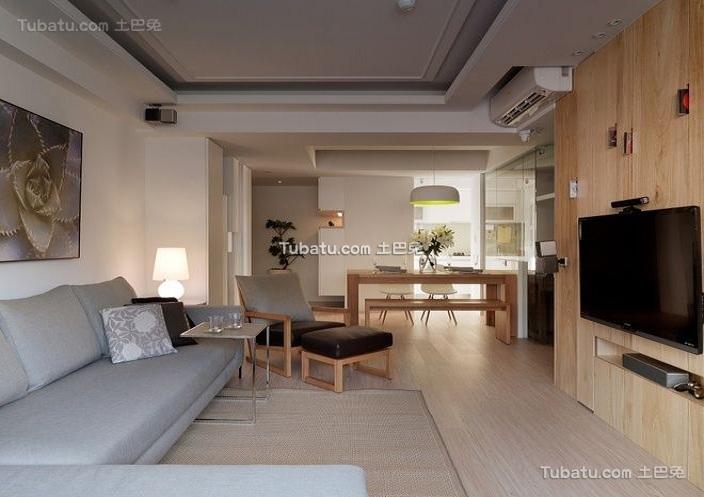 时尚温馨宜家风格公寓室内设计效果图片