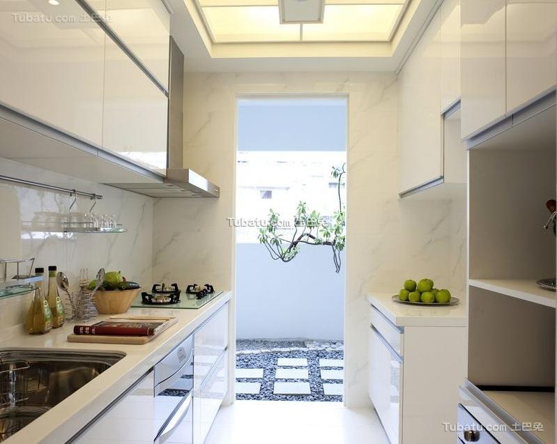 时尚现代厨房设计装修图片