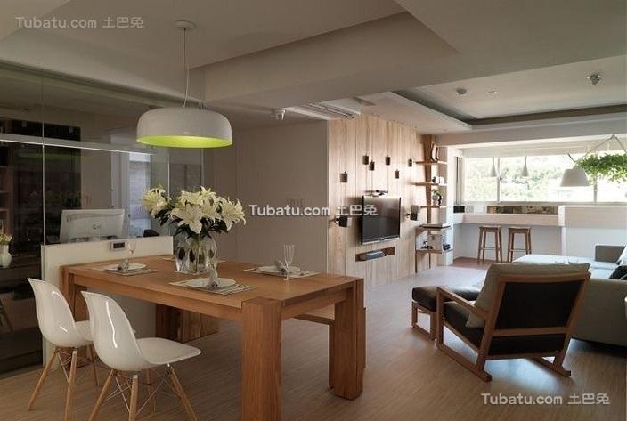 温馨宜家风格餐厅室内设计效果图片