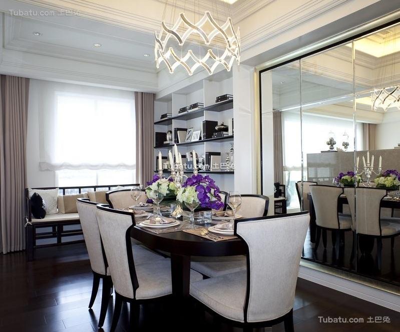 家居时尚现代餐厅设计装修图片
