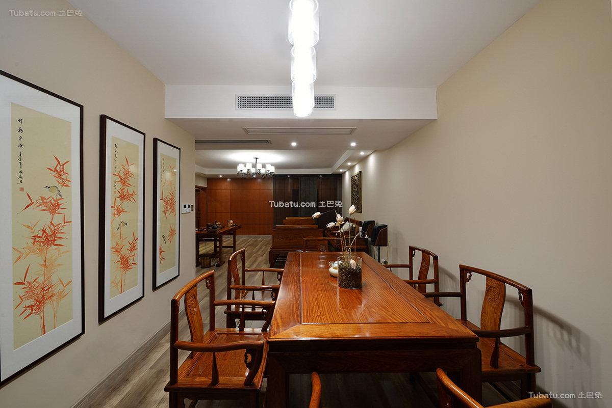 典雅中式餐厅居家设计