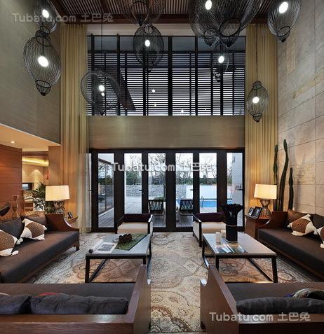 豪华现代设计别墅室内装饰图片