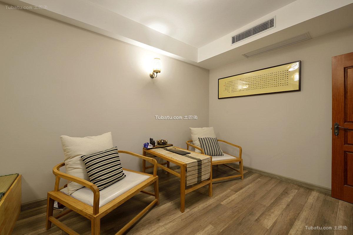 中式禅风茶室设计
