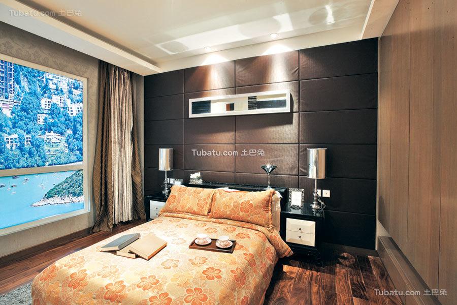 新中式卧室布置设计