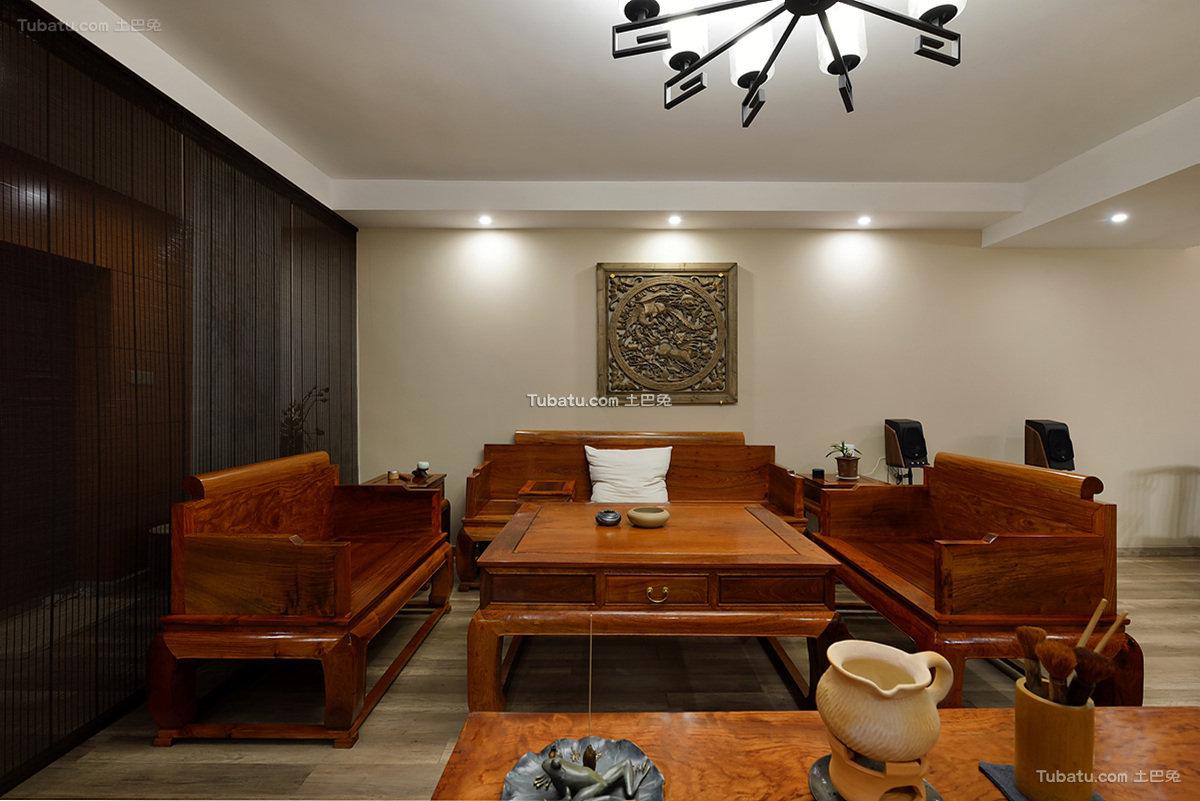 明清中式客厅设计