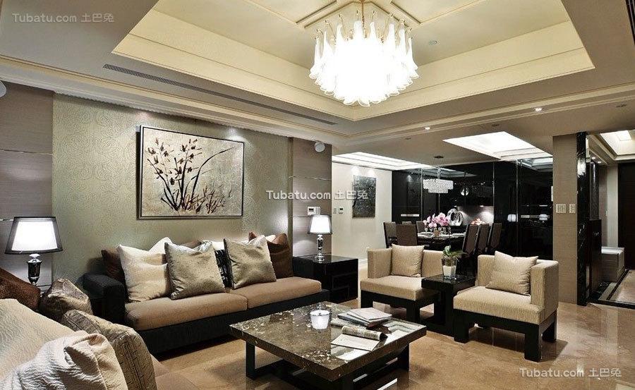 精美新中式客厅装饰