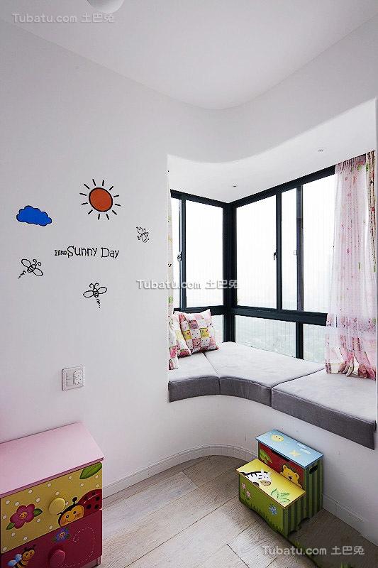 现代风格室内飘窗设计装修图片欣赏