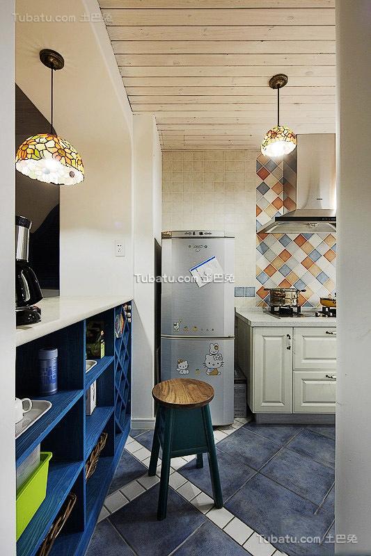 地中海风格厨房设计装修图片欣赏