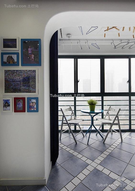 地中海风格相片墙设计装修图片欣赏