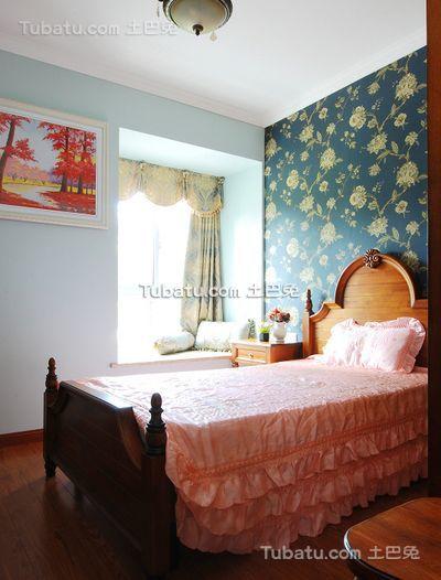 乡村田园风格小户型设计卧室图片