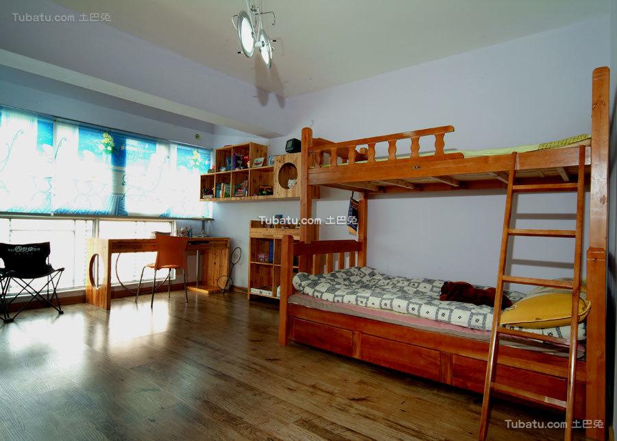 中式田园儿童房装潢