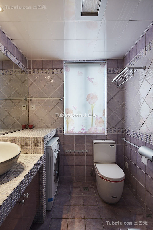 现代卫生间设计装修图片欣赏