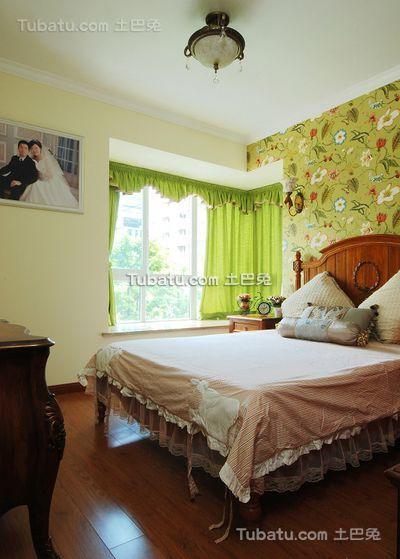 乡村田园风格卧室设计室内装修图片