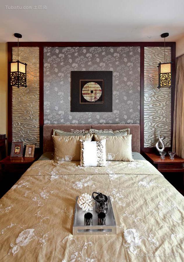 豪华时尚中式卧室