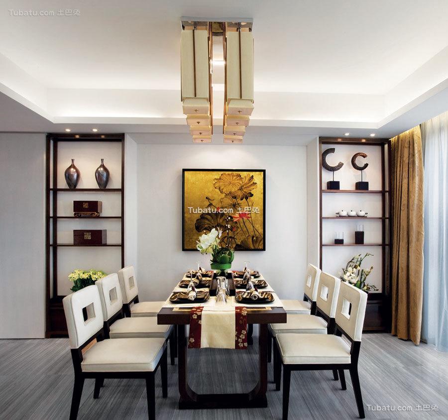 豪华现代中式居家餐厅