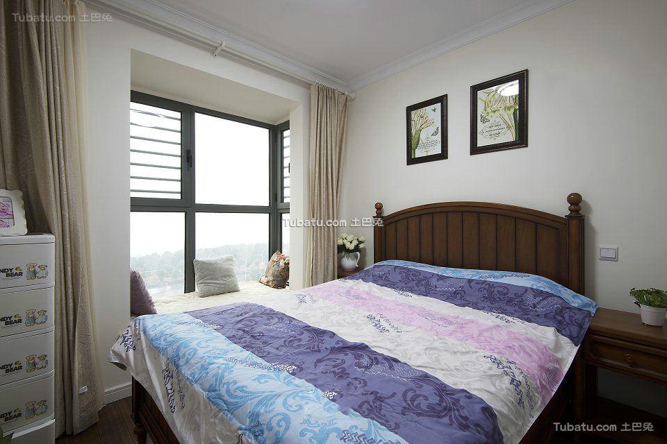 美式小户型设计卧室装修图片