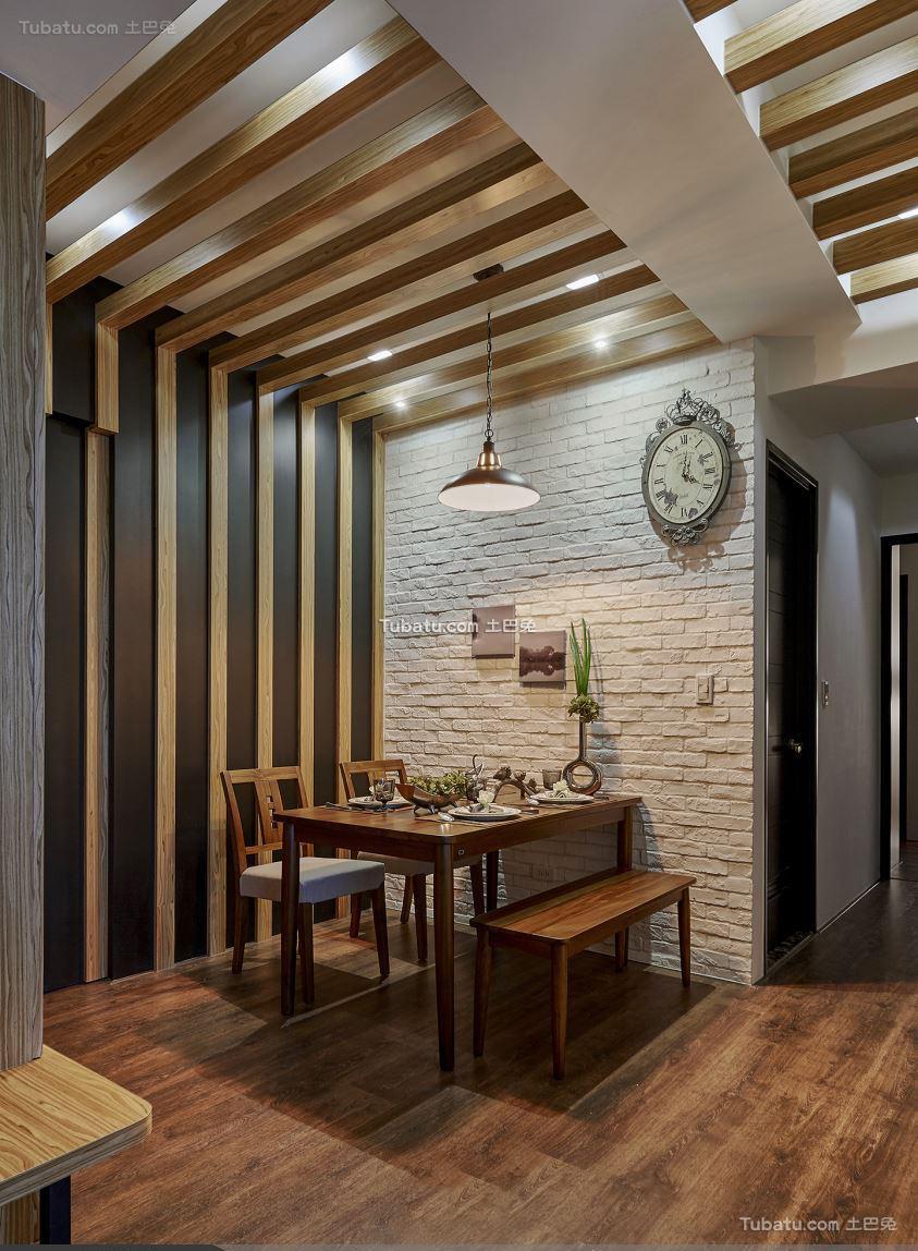 宜家风格设计餐厅效果图片