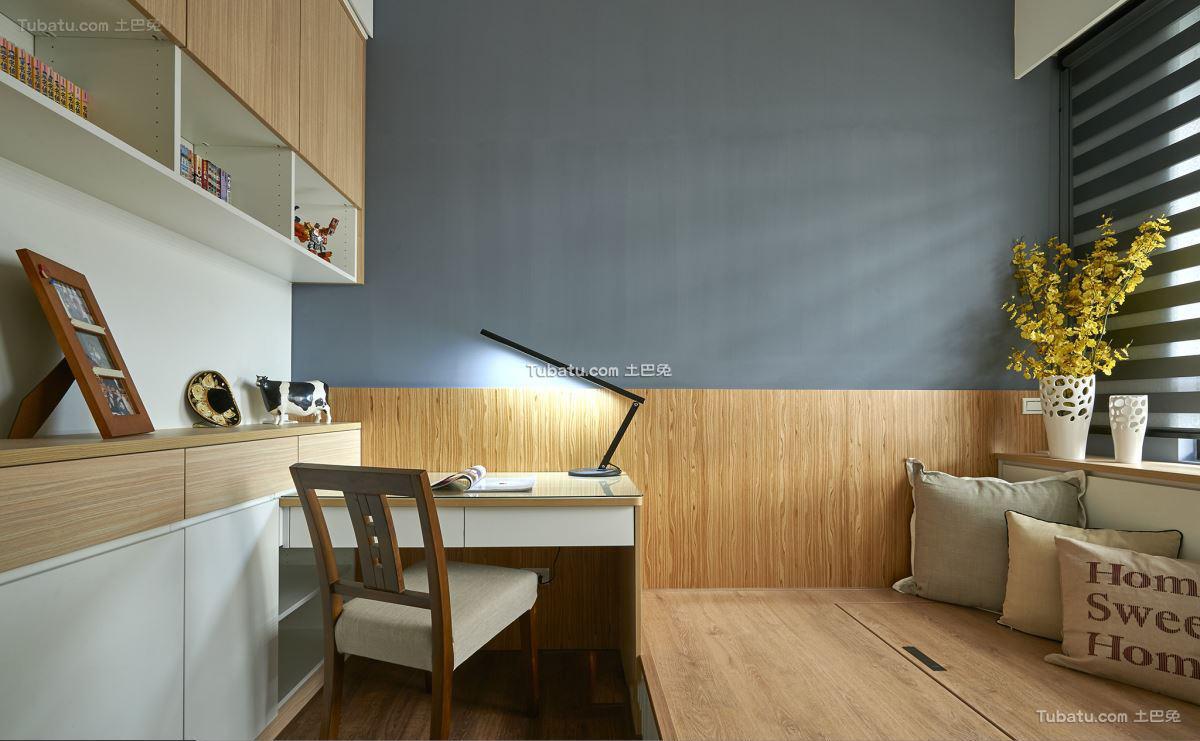 宜家风格设计室内书房装修效果图片