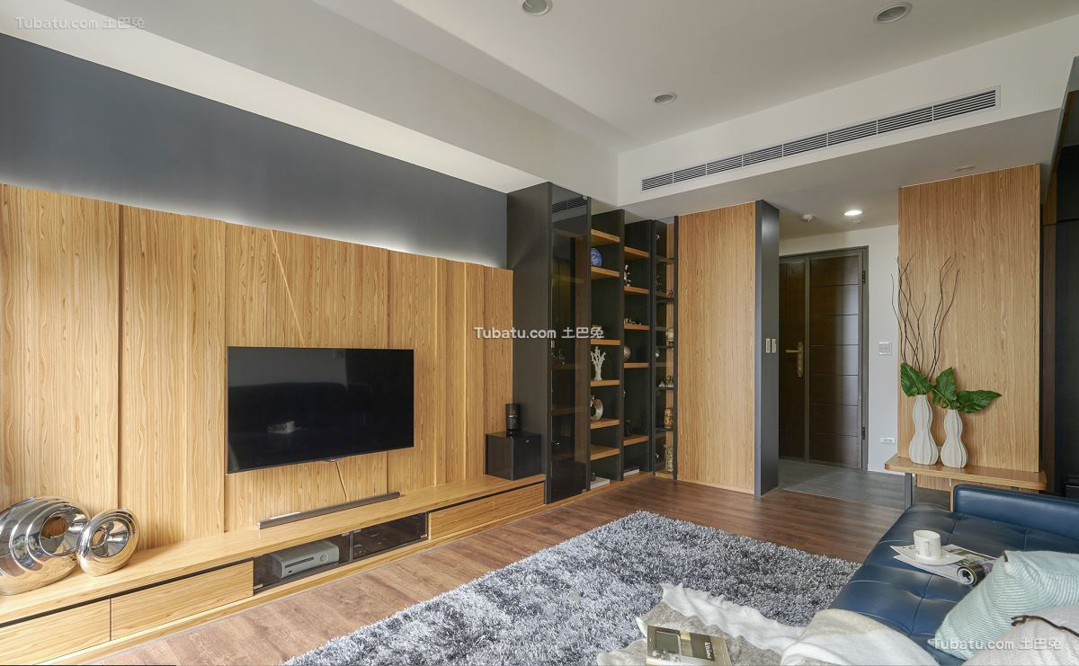宜家风格设计客厅装修效果图片