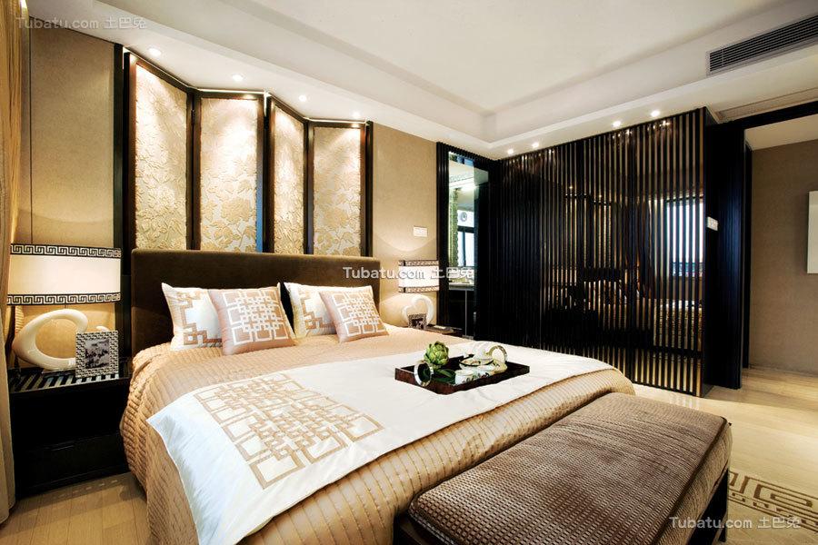 古典儒雅豪华中式卧室