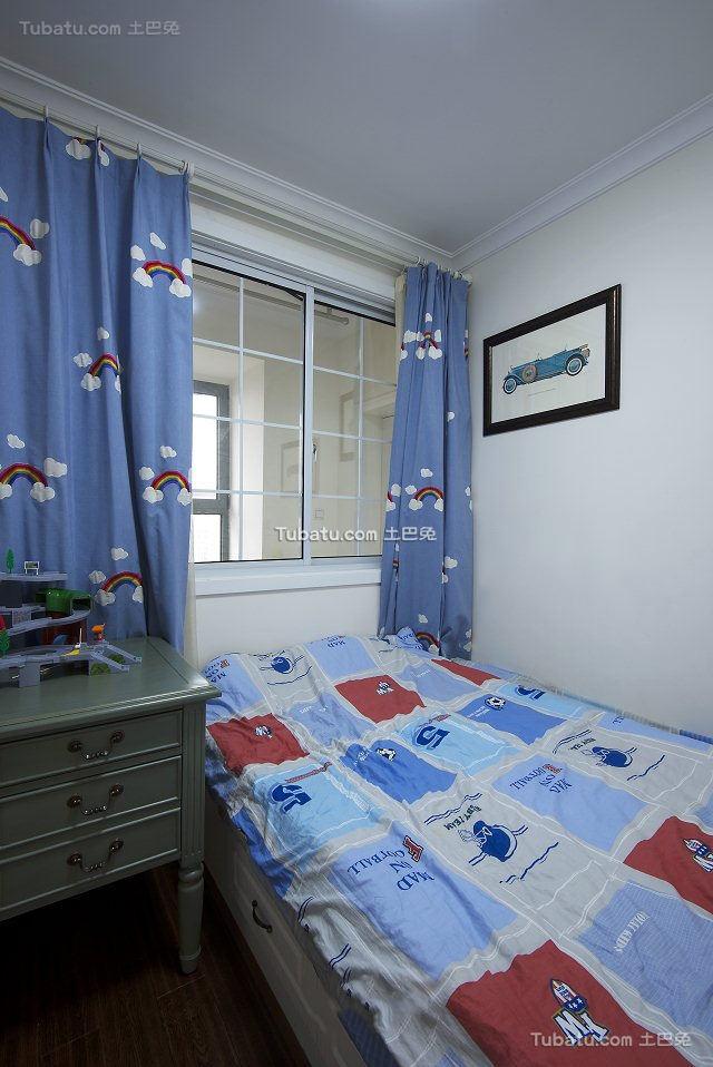 美式小户型设计儿童房图片
